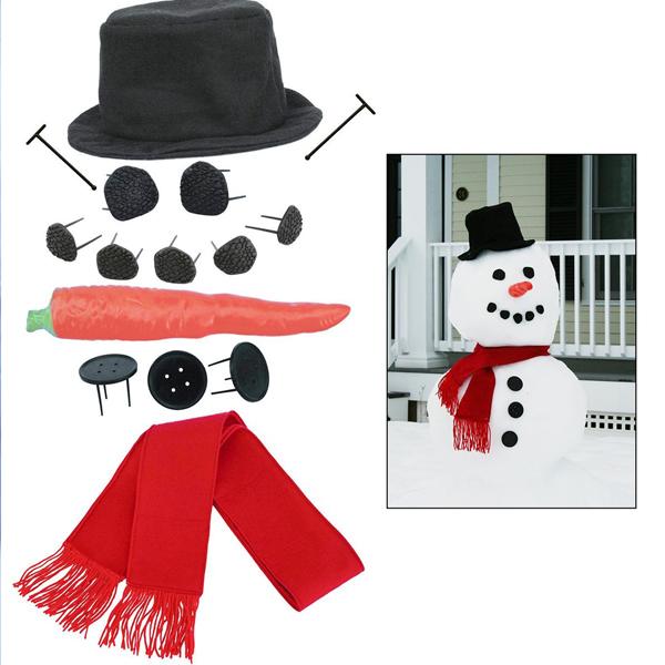 Make a snowman kit