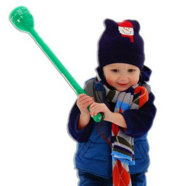 Snowfling - amazing contraption for tossing snowballs