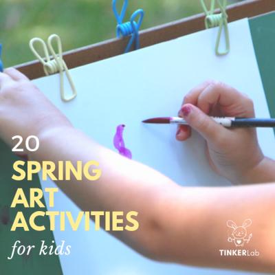 20 Spring Art Activities for Kids