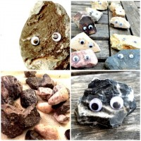 Make Pet Valentines with Rocks and Googly Eyes!
