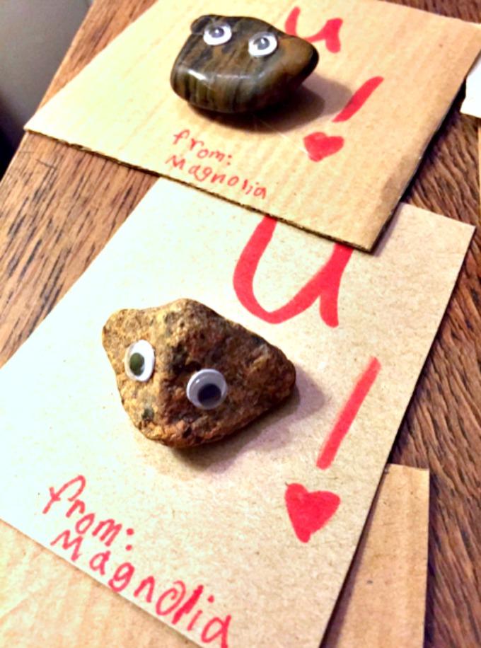 U Rock Valentine Card