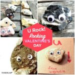 You Rock Valentines | Handmade, no-candy, eco-friendly, kids Valentines