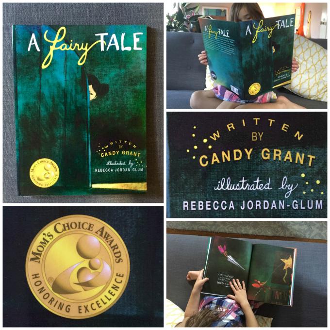 A Fairy Tale Book | Illustrated by Rebecca Jordan-Glum