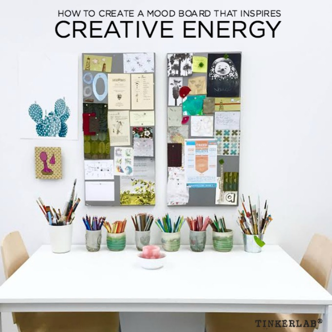 how to create a mood board that inspires creative energy