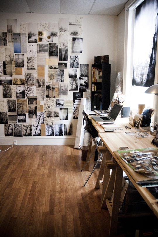 Wall sized Inspiration Board