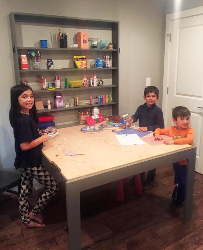 DIY STEM Table