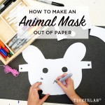 Art Prompt: How to Make an Animal Mask out of Paper