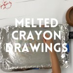 How to Make Melted Crayon Art