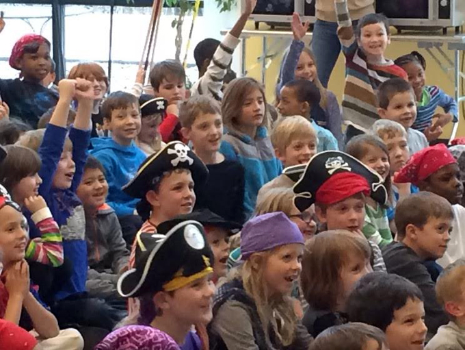 hivers the pirate who's afraid of everything author interview school event