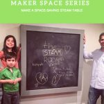 Tinkering Spaces: The Fold-Away STEAM Table