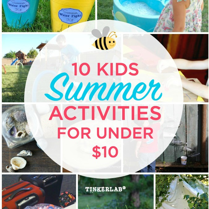 10 Kids Summer Activities Under $10