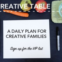creative table project