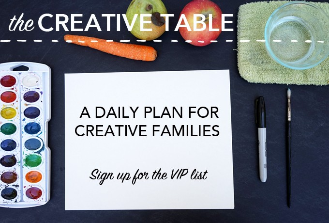 The Creative Table | VIP Wait List
