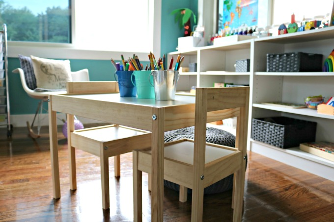 Home Art Space for Kids