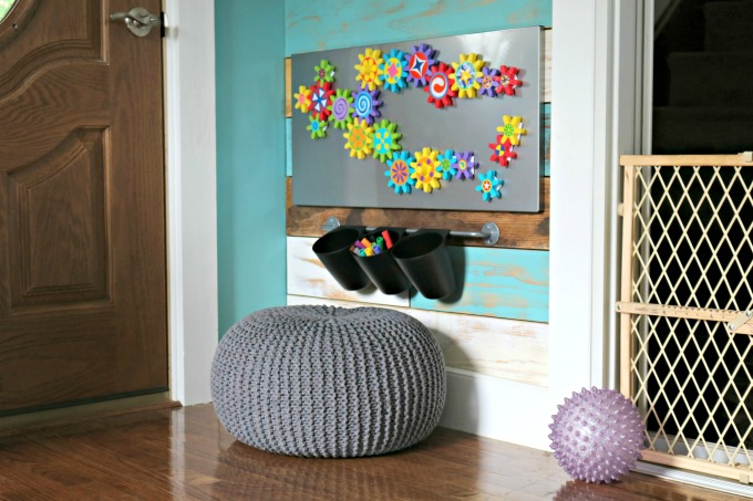 Magnet Wall Toddler Art Space