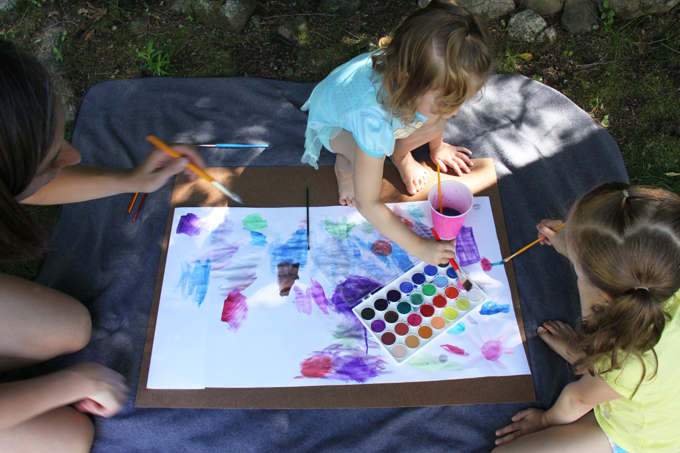 child directed art activities