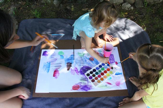 child directed art activities