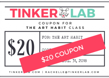 20 coupon art habit example