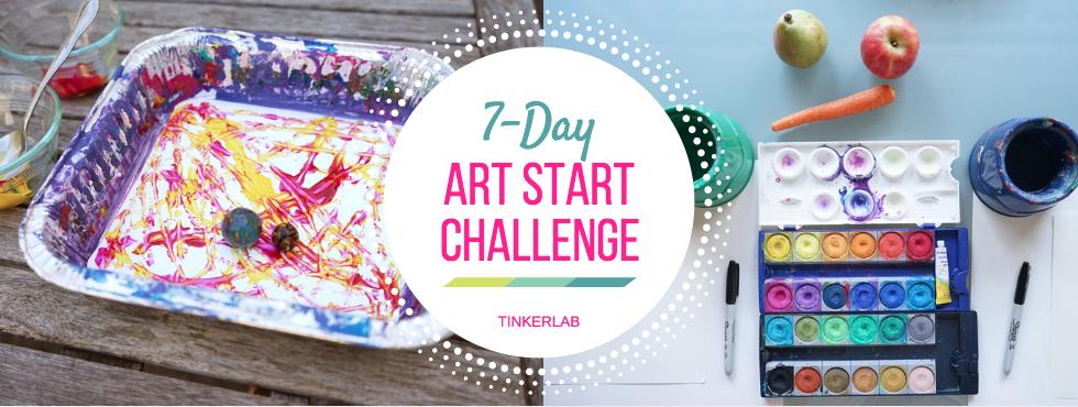 7 Day Art Start Challenge