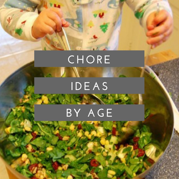 Chore Ideas by Age