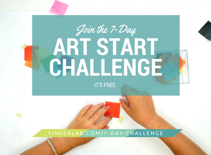 Join the 7-Day Art Start Challenge
