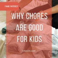 Why chores are good for kids small