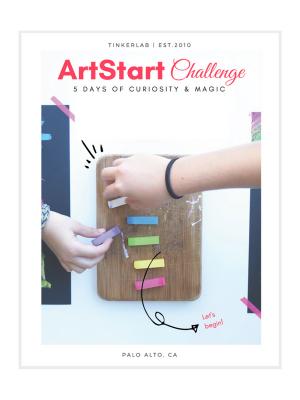 artstart challenge guide cover