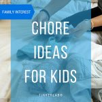 Chore Ideas for Kids Organized by Age