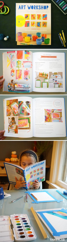 Art Workshop for Children Book Review | TinkerLab