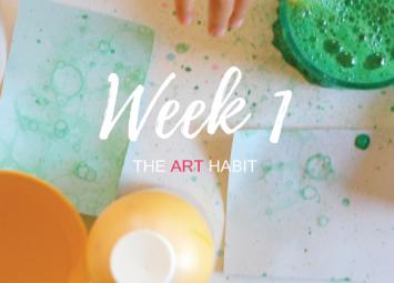 The Art Habit sample page