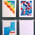 Art Workshop for Children | Simple Frame Paintings
