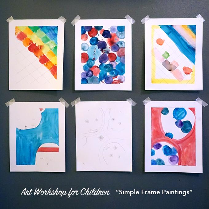 simple frame paintings