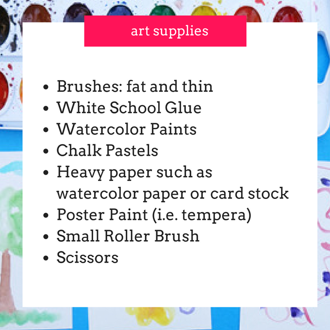Art Supplies - jan