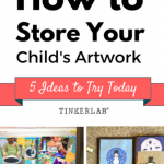 How to Easily Save and Share Your Child's Art
