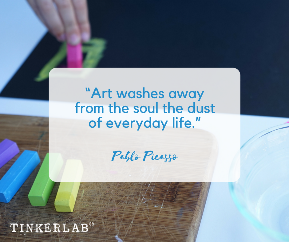 art quote picasso