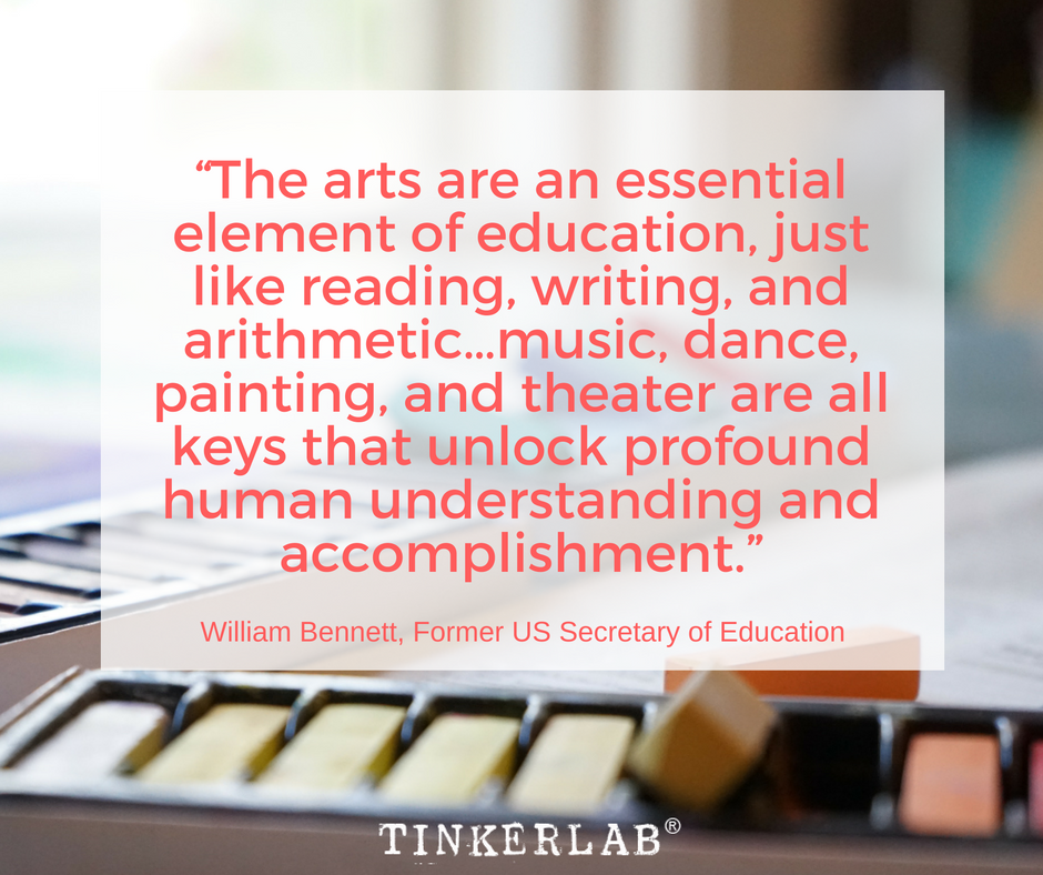 Six Arts Advocacy Quotes Tinkerlab