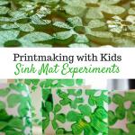 Spring Sink Mat Prints
