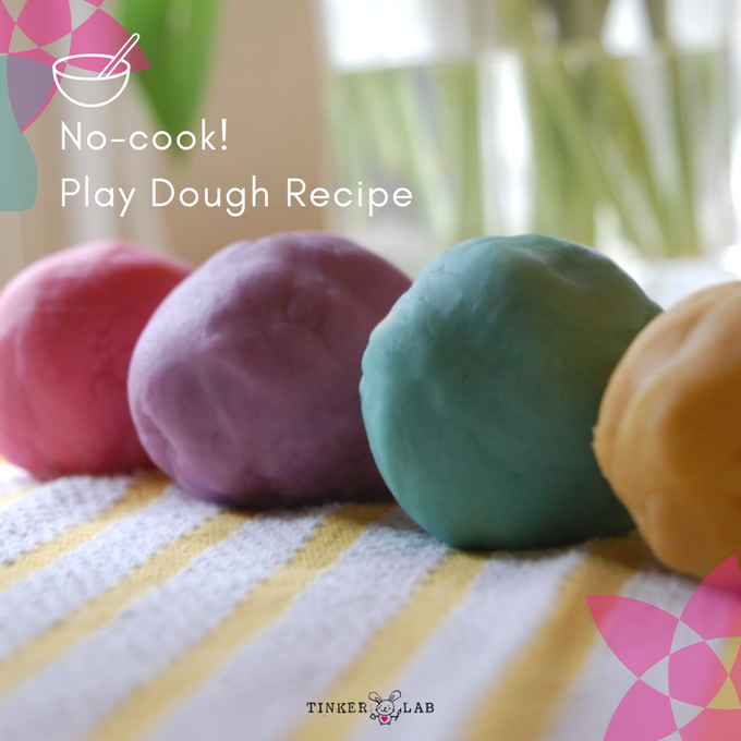 the best no cook playdough