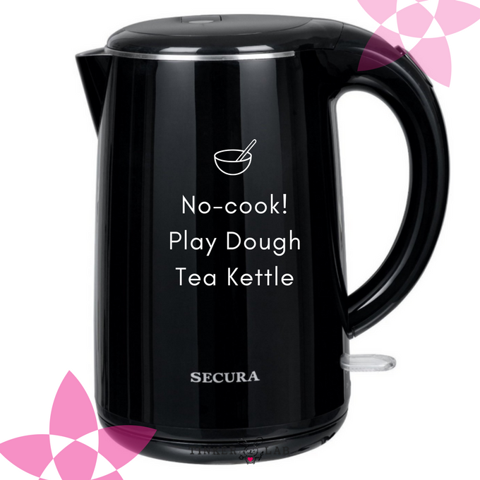 no cook playdough tea kettle