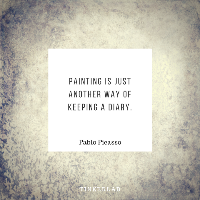 picasso painting quote tinkerlab