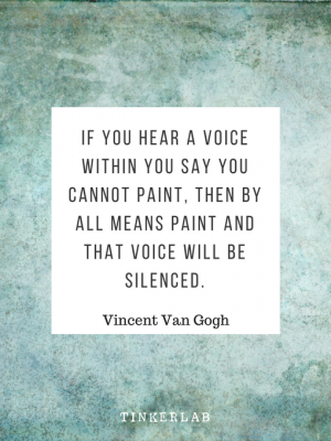van gogh painting quote tinkerlab