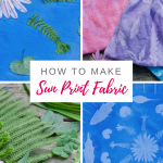 How to Make Sun Prints on Fabric