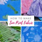 How to Make Sun Prints on Fabric