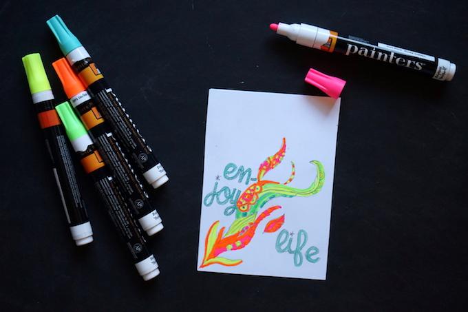 painters paint pens