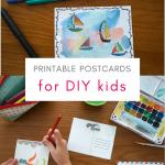 Printable Postcards for Kids – Download PDF