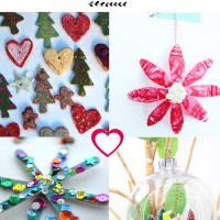 21 Kids Christmas Ornaments that Your Kids will Love Making