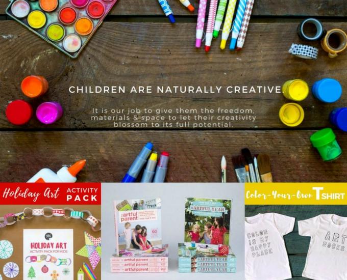 Jean Van't Hul Artful Parent Gift Pack