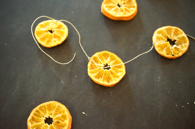 step 2 orange garland