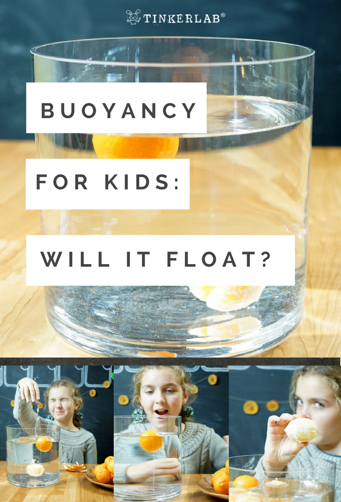 Buoyancy for Kids Will it Sink or Float
