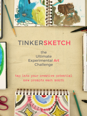 TinkerSketch | The Ultimate Monthly Art Challenge